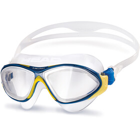 Head Horizon Maschera, clear-yellowblue-clear